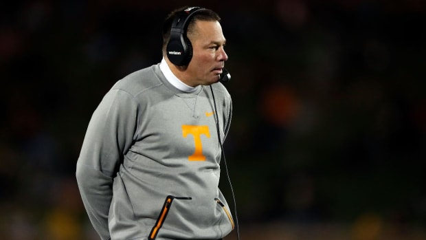 Tennessee Fires Head Coach Butch Jones--IMAGE