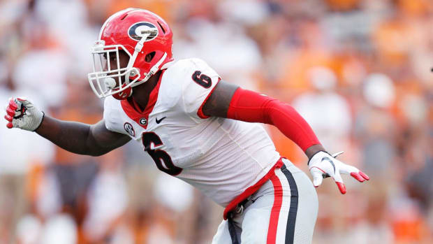 Report: Georgia LB Natrez Patrick Enters Rehab Program, Will Not Play in Rose Bowl - IMAGE