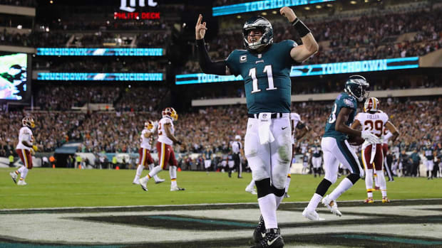 Impressions of Eagles QB Carson Wentz After Win Over Redskins in Week 7 - IMAGE