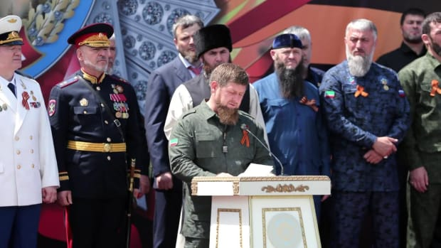 Media circus: inside HBO Real Sports' interview with Chechen leader Ramzan Kadyrov - IMAGE