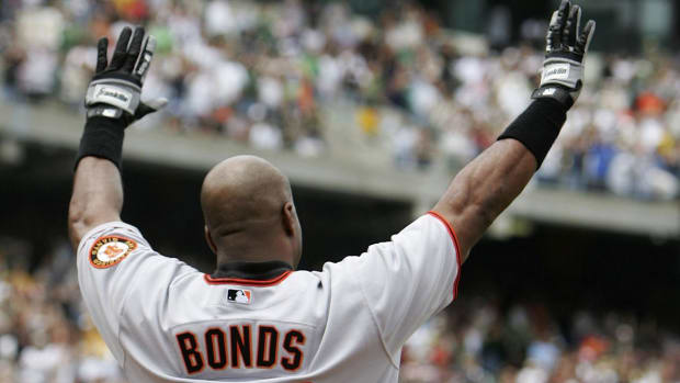 Giants set to unveil Barry Bonds plaque at AT&T Park IMAGE