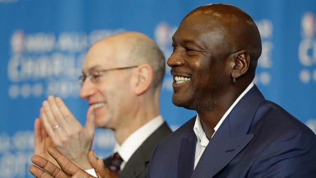 Report: Michael Jordan, Adam Silver may try to mediate Knicks-Oakley dispute - IMAGE
