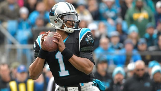 Cam Newton Doesn't Want Jerry Richardson to Sell the Panthers - IMAGE