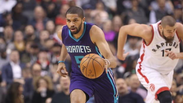 Hornets' Nicolas Batum Tears Elbow Ligament, Out 6-8 Weeks - IMAGE