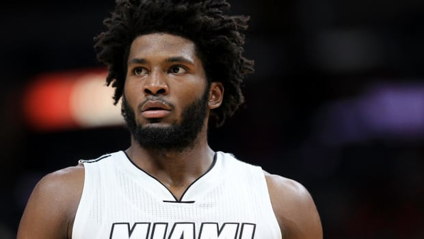Heat forward Justise Winslow likely done for season IMAGE