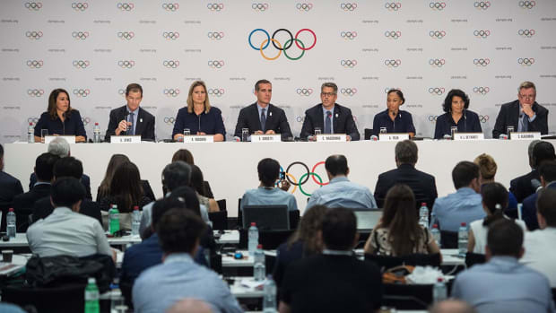 IOC unanimously votes to award 2024 and 2028 Olympics in September - IMAGE