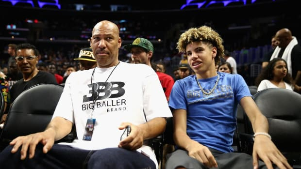 LaVar Ball To Pull Son LaMelo From School and Train Him--IMAGE