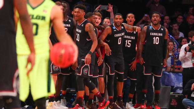 South Carolina reaches first ever Elite Eight--IMAGE