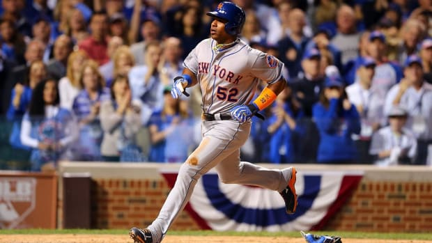 Yoenis Cespeses Says He Wants to Finish His Career with Oakland A's--IMAGE