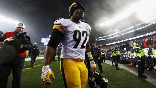 Steelers Release Veteran LB James Harrison--IMAGE
