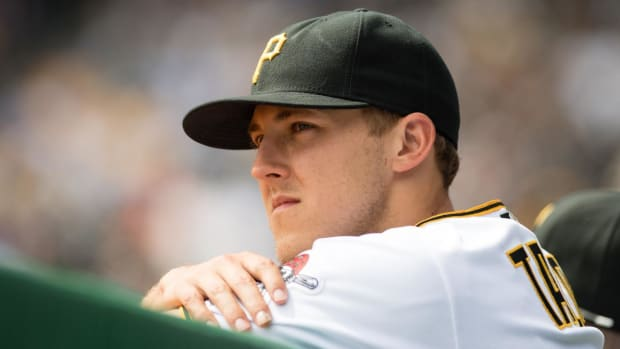 Pirates' Jameson Taillon treated for suspected testicular cancer--IMAGE
