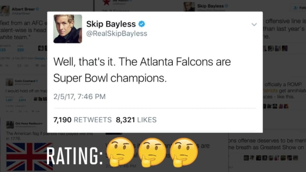 The best premature Super Bowl tweets - IMAGE