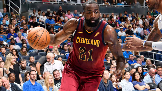 Kendrick Perkins Signs With Cavs' G-League Affiliate--IMAGE