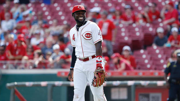 Report: Reds' Brandon Phillips blocked trade to Braves - IMAGE