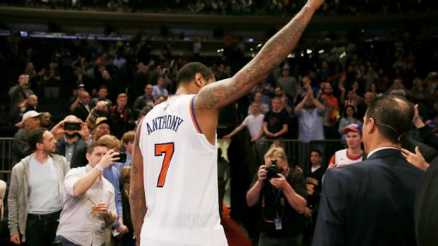 Report: Knicks, Rockets Discussing Carmelo Anthony Trade Again - IMAGE