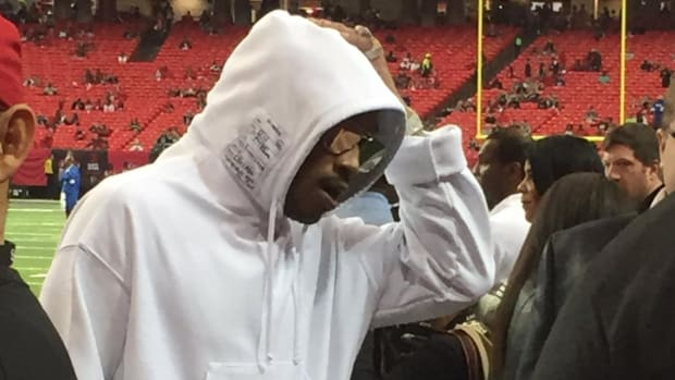 Future in attendance to watch Russell Wilson play in Atlanta--IMAGE