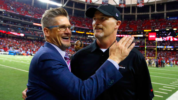 Image result for Friends Scott Pioli and Thomas Dimitroff See Their Teams Square Off in Week 1