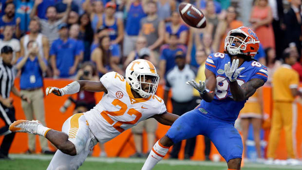 Florida Defeats Tennessee on Hail Mary--IMAGE