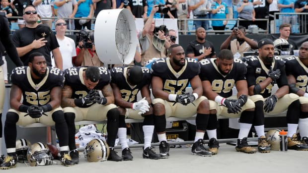 Saints Players React to Donald Trump's Comments - IMAGE