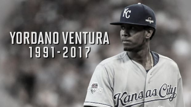 Kansas City mourns the loss of Yordano Ventura - IMAGE