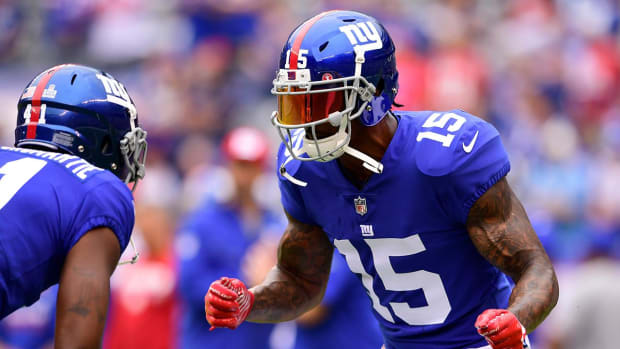 Giants WR Brandon Marshall Out For The Rest Of 2017--IMAGE