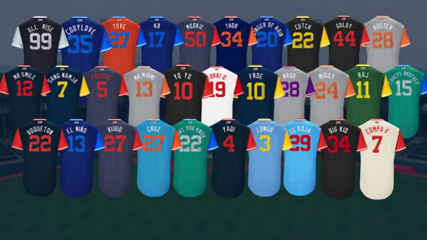 Yankees To Wear Names on Back Of Jerseys For First Time - IMAGE
