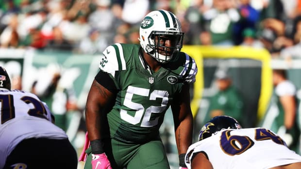 Report: Former Jets linebacker David Harris signs with Patriots IMAGE