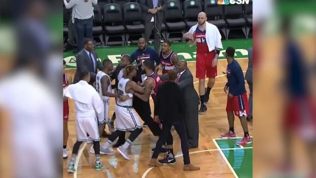 John Wall, Jae Crowder beef after Celtics beat Wizards - IMAGE