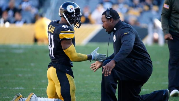Steelers assistant Joey Porter reinstated, will coach vs. Chiefs - IMAGE