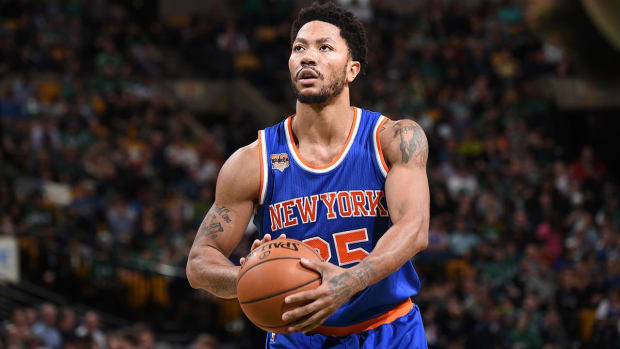 Report: Timberwolves, others teams inquire about Derrick Rose - IMAGE