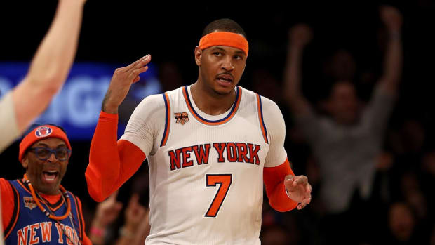 Report: New York Knicks may want to keep Carmelo Anthony