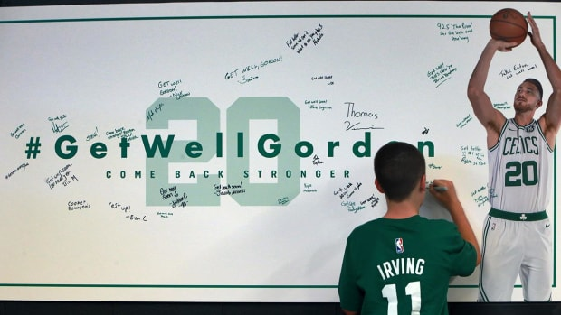 Gordon Hayward Announces He Will Not Return This Season In Emotional Facebook Post - IMAGE