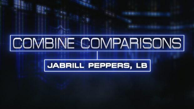 Combine Comparisons: Jabrill Peppers, LB IMAGE