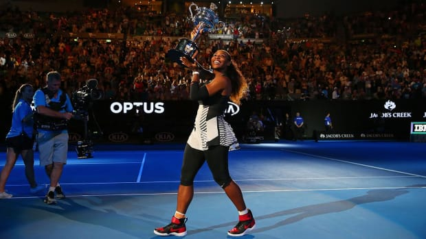 Serena Williams defeats sister Venus to win her 23rd major title--IMAGE