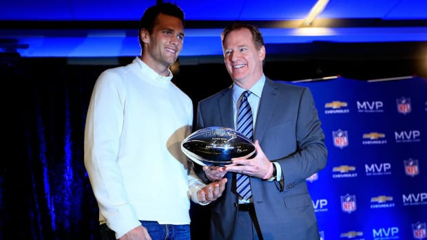 Roger Goodell is passing on the Patriots game ... again - IMAGE
