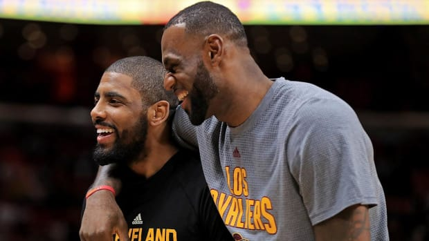 LeBron James Denies He Wants Kyrie Irving Traded - IMAGE