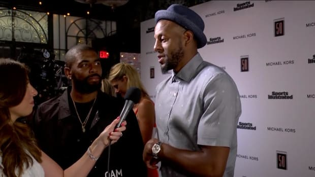 Andre Iguodala calls out Kyrie Irving for ignoring his texts at Fashionable 50 red carpet - IMAGE