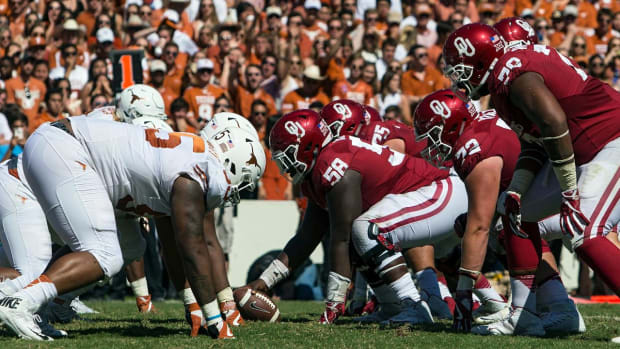 Settling the Twitter beef: Oklahoma Sooners vs. Texas Longhorns -- IMG