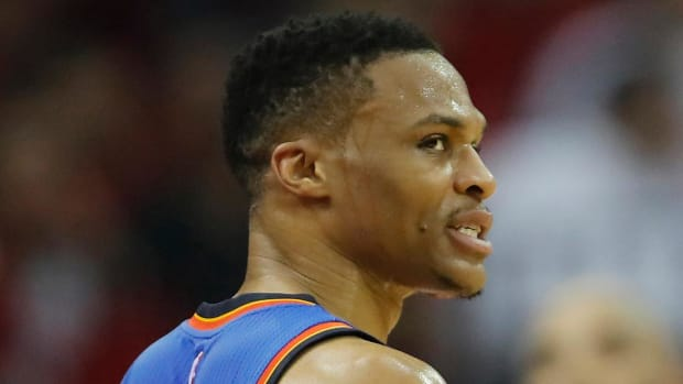 Russell Westbrook fined $15,000 for cursing in postgame interview - IMAGE