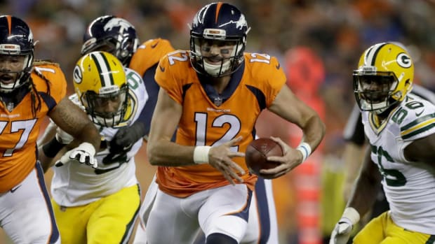 Broncos QB Paxton Lynch to miss several weeks with shoulder injury - IMAGE