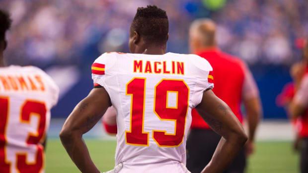 Kansas City Chiefs release WR Jeremy Maclin--IMAGE