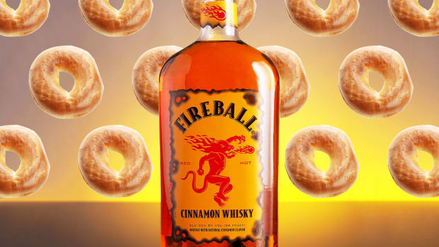fireball whiskey bagels