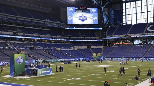 #DearAndy: What events should the NFL add to the combine? -- IMG
