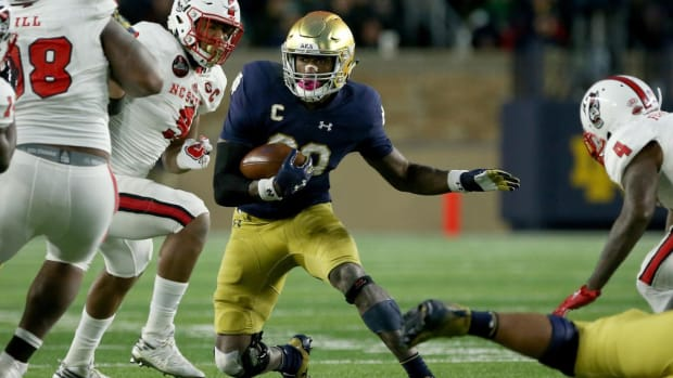 College Football Playoff Projections: Notre Dame Back in the Field After Dismantling NC State