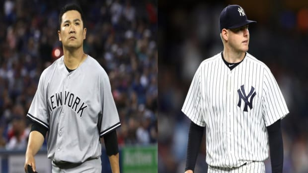 Tanaka Heads to DL, Jordan Montgomery Hurt During Batting Practice--IMAGE