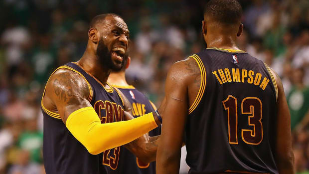 Cavs show no sign of rust in Game 1 win over Celtics - IMAGE