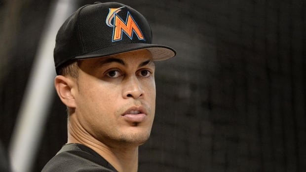 Marlins Agree to Trade Framework For Stanton With Giants, Cardinals--IMAGE