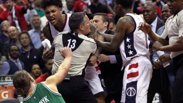 Wizards forward Kelly Oubre Jr. suspended for Game 4 vs. Celtics--IMAGE