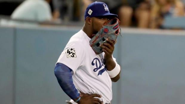 Yasiel Puig's Home Burglarized During Game 7--IMAGE