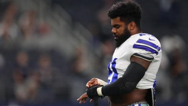 Judge Denies NFL's Stay Request in Ezekiel Elliott Case - IMAGE